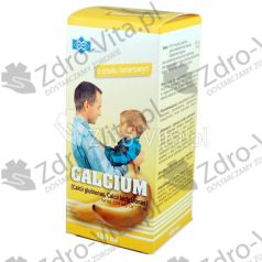 Calcium Polfarmex o sm.banan,syrop,150ml,but.szkl.