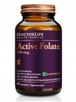 Doctor Life, Active Folate 800mcg, 60 kaps