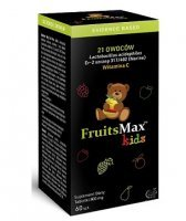 FruitsMax Kids 500 mg, 60 tabletek