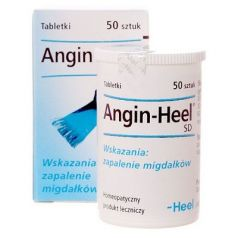 HEEL ANGIN SD, 50 TABLETEK