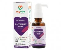 MyVita Witamina B-Complex Active, krople 30 ml
