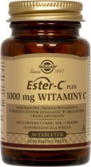 SOLGAR Ester C-Plus witamina C 1000 mg, 30 tabletek