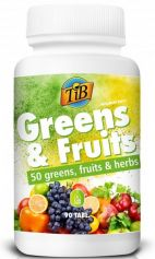 THIS IS BIO GREENS & FRUITS 90 TABLETEK